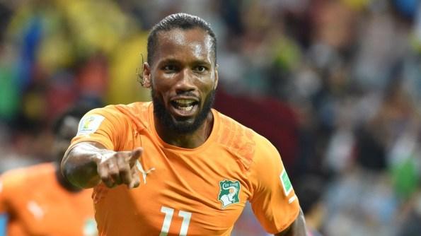 La sola presencia de Drogba hizo que el partido se inclinara a favor de los marfileños