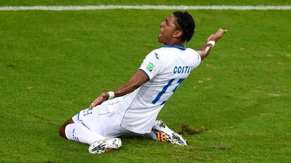 Carlo Costly anotó para Honduras quien no anotaba gol desde hace 32 años